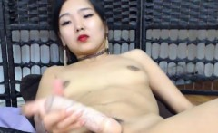 Amazing Asian Amateur Toys Herself On Cam