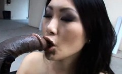 asian sexy lady evelyn lin takes a huge black cock!