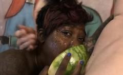 Black Ghetto Trash Sade Sparx Gettin Dat Face Violated