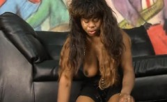 dirty black ghetto ho sasha white getting her face wrecked