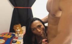 Horny Tranny Love Sucking Her Boyfriend Cock