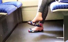 hot feet in flats dangling full movie=cambirds dot com