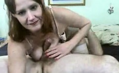 English milf in stockings goes on a ride in this hd video