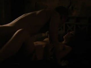 Nathalie Emmanuel tits and ass in a sex scene