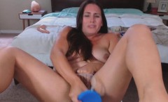 Big Ass Brunette Love Big Toys In Her Wet Creamy Cunt