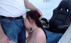 Amateur slut fucked and blowjob in stockings