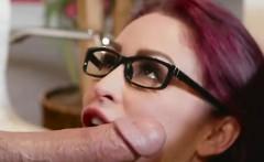 busty secretary monique alexander blows her hung boss