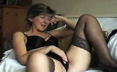 Mature british stockings in lingerie