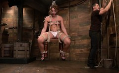 Savannah Fox enjoys some hardcore BDSM