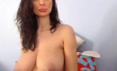 Big boobs milf in bed (HOT) - THEWILDCAM. COM