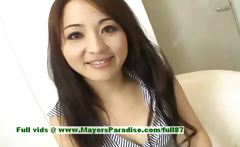 Miina superb asian girl gets nipples licked