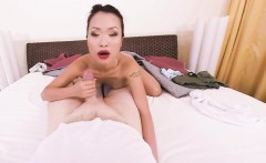 VR PORN- Hot Asian is getting fucked hard by a big cock