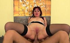 Hot milf anal and cumshot