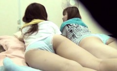 Asian teens wet the bed