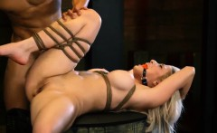 Extreme Male Bondage Electro First Time Big-breasted Blond S