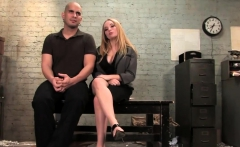 Mistress Aiden Star Rides Submissive Guy