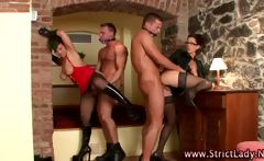 Hot babes dominate losers