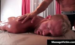 Sexy gay stud blows penis and gets