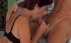 Mature lady fucked by horny guy