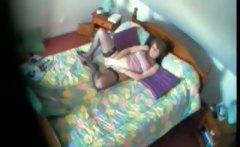 My Mom juliette 40 years fingering bedroom