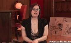Dirty brunette teaches you how to enjoy