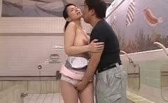 Juri Yamaguchi Asian model enjoys