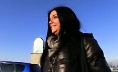 Kinky Czech girl Vikky pounded for money