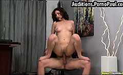 Real video of girls porn audition