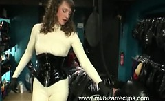 Kinky Marvelous Nasty Latex Chick Fetish Fucking