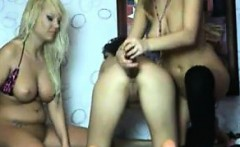 Wild Russian Girl Threesome