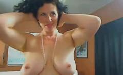Me Busty housewife Shanon teasing on webcam