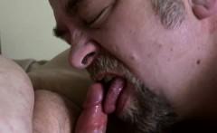 Big Belly Bears Oral Sex