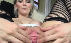 Gyno toy inside of her beautiful pussy