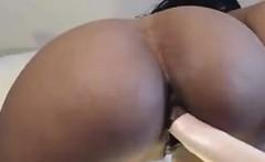 Busty Latin Babe Enjoying Her Dildo