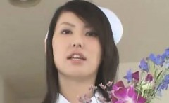 Sexy Japanese Nurse With Great Breasts