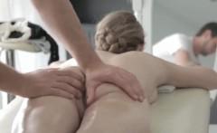 Fantasy massage perfect body perfect blonde
