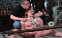 Busty cowgirl jizz in mouth