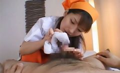 Ann Nanba Sweet Asian nurse gives