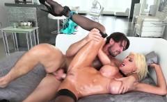 Big boobs surprise cum in mouth