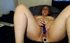 Fat Cam Girl With Glasses