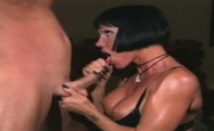 Milf with lingerie enjoys dick in the ass