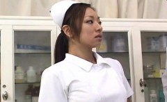 Erena Fujimori sucks vibrator and rides cock