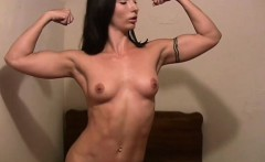 Fit Wenona Gets Naked in Her Room