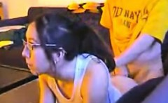 Partner gets fucked while enjoying with PS3
