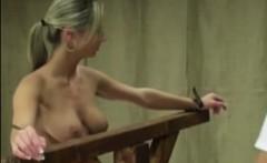 Smalltits girl gets bdsm puninshment