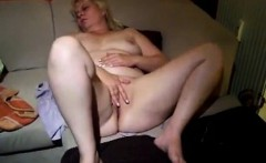 Two fingers are stuck in by sexy bbw spouse