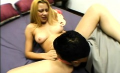Alluring blonde spreads her legs for a hard cock and a rough drilling