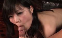 Lingerie model, Hikaru Kirameki, takes big dick in her holes