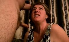 MILF lady-like sucking on cocks
