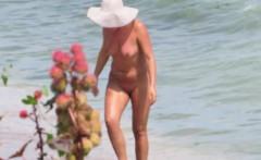 Sex On The Beach - Amateur Nudist Voyeur MILFs